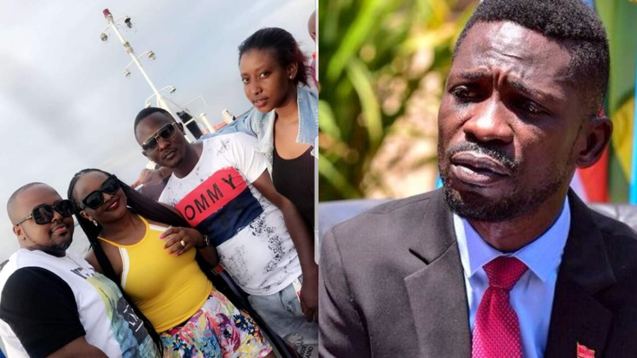 Kyaddondo East MP Robert Kyagulanyi alias Bobi Wine has expressed heartfelt dismay for the loss of lives in the tragic lake Victoria boat cruise Saturday evening (FILE PHOTO)