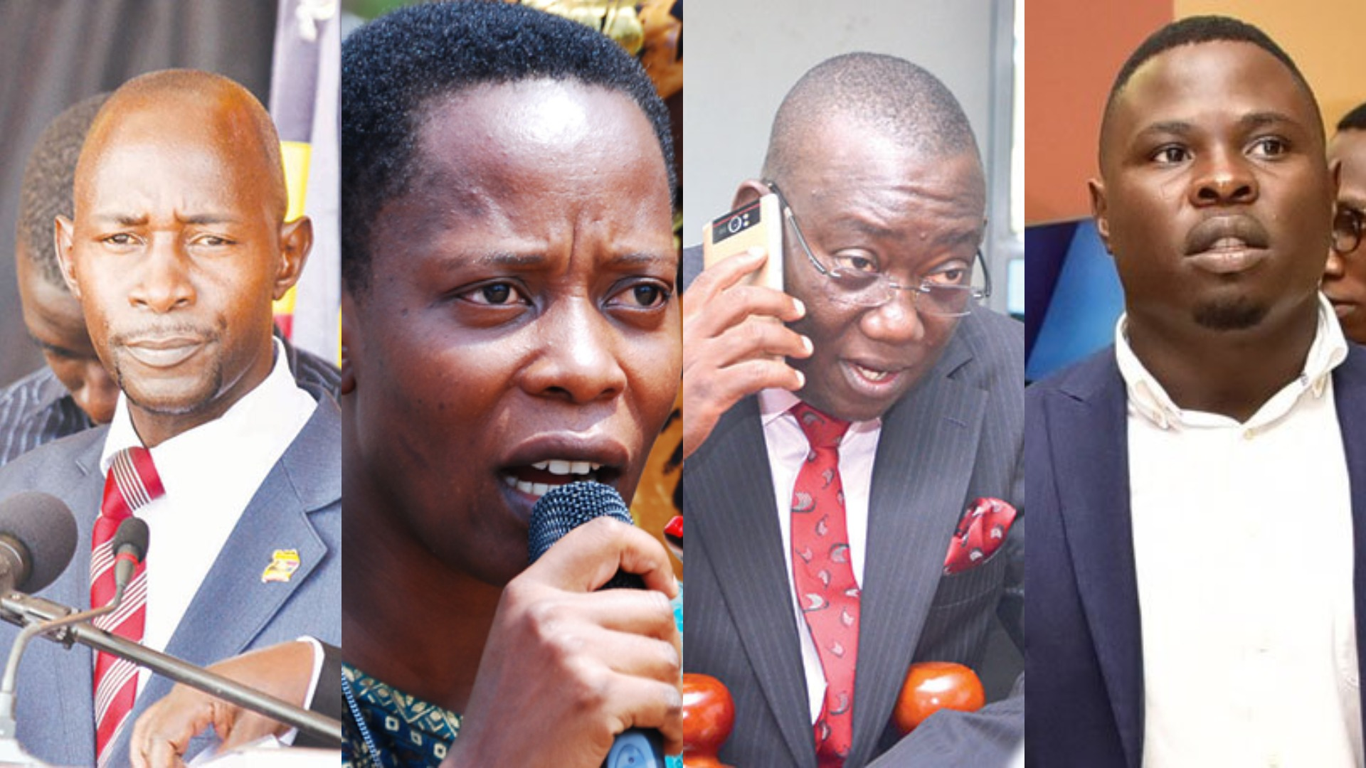 Leader of Opposition, Betty Aol has named her shadow cabinet with Paulson Lutamaguzi, Betty Nambooze, Kato Lubwama and Francis Zaake making list of the new shadow ministers (PML Daily PHOTO)