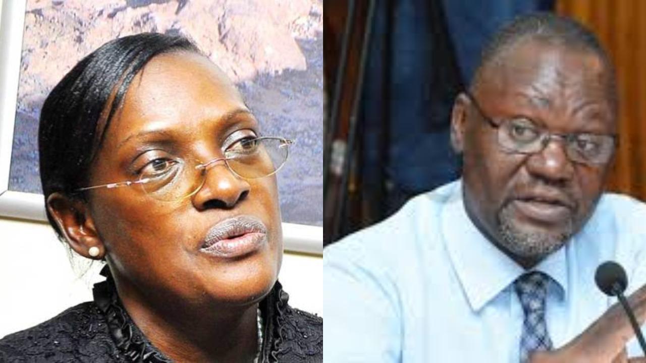 Abdu Katuntu led COSASE has summoned embattle former BoU Director of Supervision, Justine Bagyenda (FILE PHOTO)