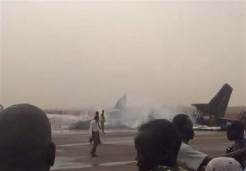 Seven people dead as a plane crashed in Gadaref State, Eastern South Sudan (AGENCIES PHOTO)