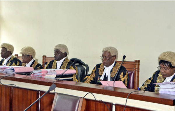 The Constitutional Court vowed give its final age limit judgement July 26. (FILE PHOTO)