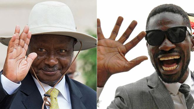 Kyadondo East MP Robert Kyagulanyi alias Bobi Wine has rebuked President Museveni's renewed fight against corruption labelling the act as a joke (FILE PHOTO)
