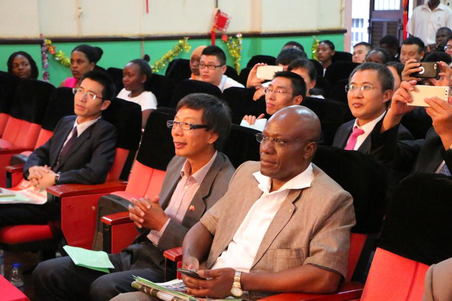 Chinese Confucius Institute at Makerere celebrated its fourth anniversary
