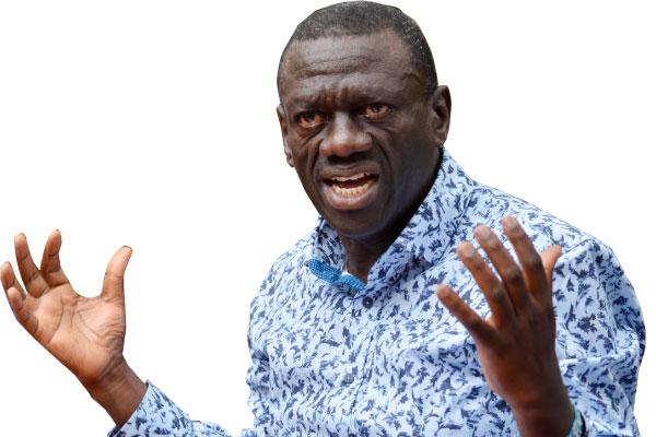 Dr Kiiza Besigye, the former FDC president