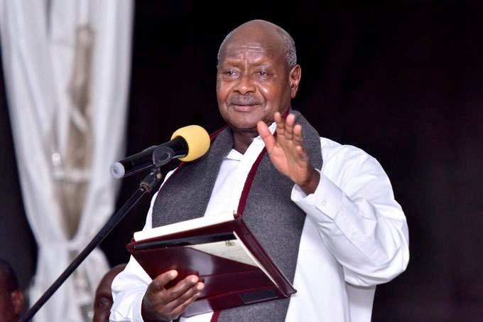 President Yoweri Museveni has been in consistent support of the Cranes (FILE PHOTO)