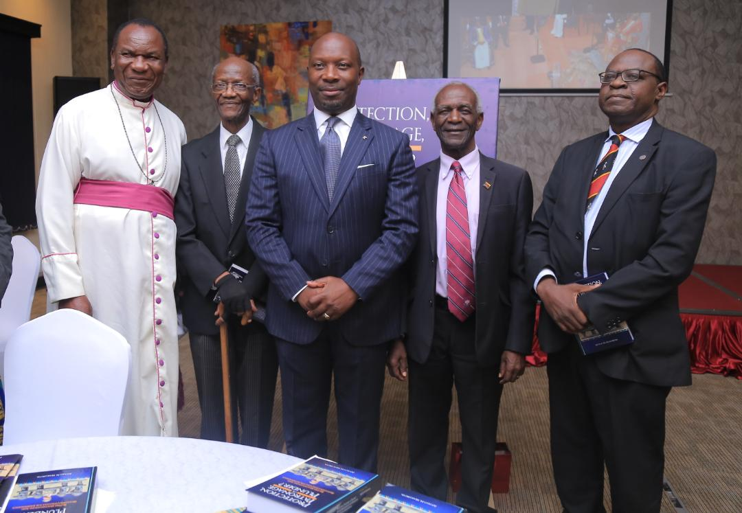 In attendance was Rtd Archbishop Paul Luzinda, Samuel Wako Wambuzi, Justice James Ogoola, Khidu Makubuya and colleagues. (PML Daily PHOTO)