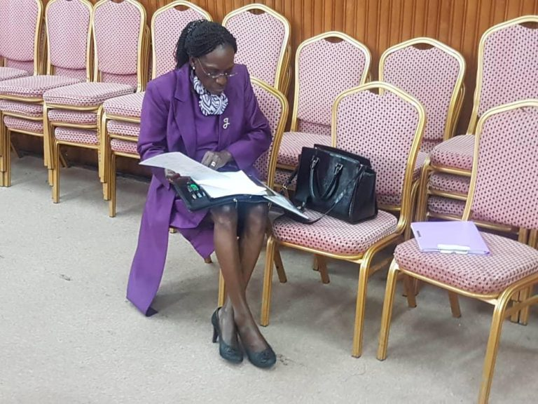 Embattle former Bank of Uganda Director of Supervision, Ms Jystine Bagyenda