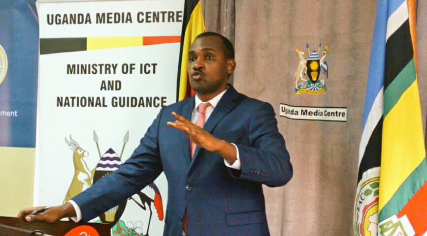 ICT and National Guidence minister Frank Tumwebaze