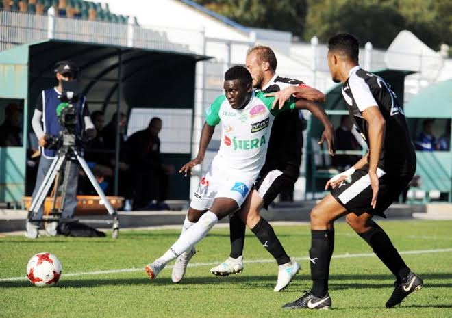 Shaban scored Casablanca's fifth goal (Photo by Agency)