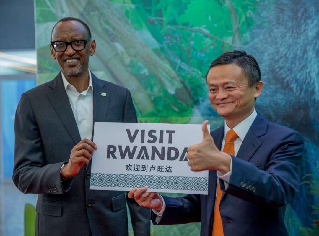 Chinese Billionaire Jack Ma shows support to visit Rwanda Campaign (PHOTO BY KT PRESS)