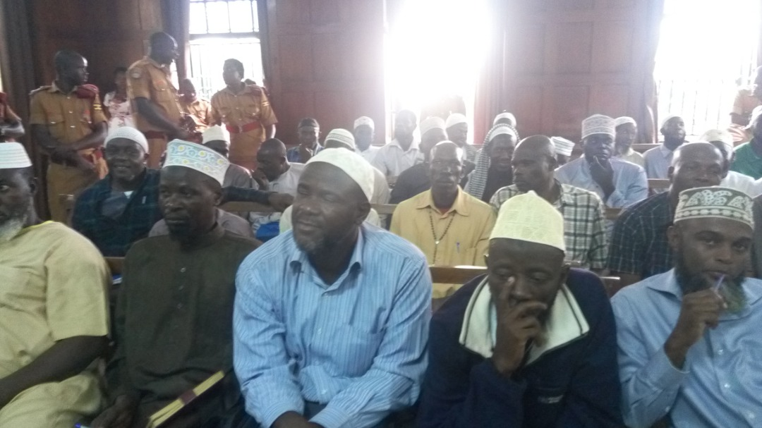 Jamilu Mukulu together with his co-accused have appeared in Court today. (PHOTO/File)