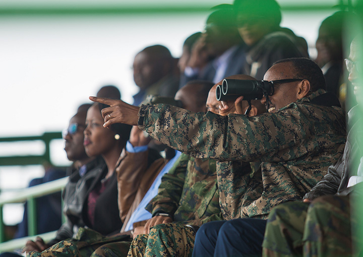 President Paul Kagame has axed hundreds of army and Police officers as government renews fight on corruption. (PHOTO/FILE)