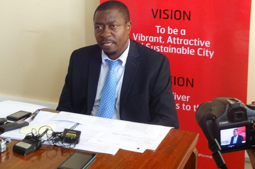 Acting Executive Directot Kampala Capital City Authority (KCCA), Andrew Kitaka (FILE PHOTO)