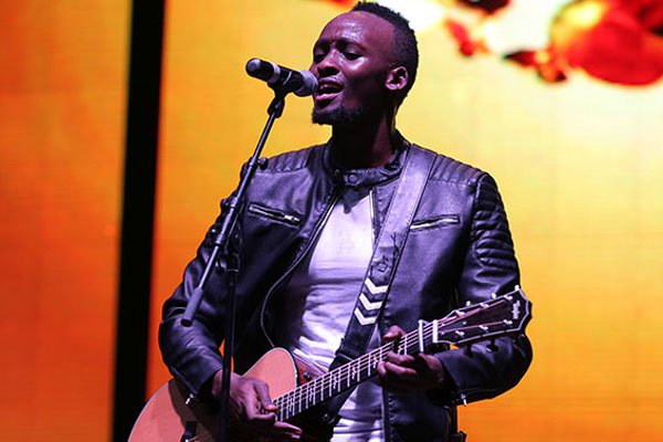 Rwandan RnB artiste Ngabo Medard Jobert aka Meddy. PHOTO | FILE