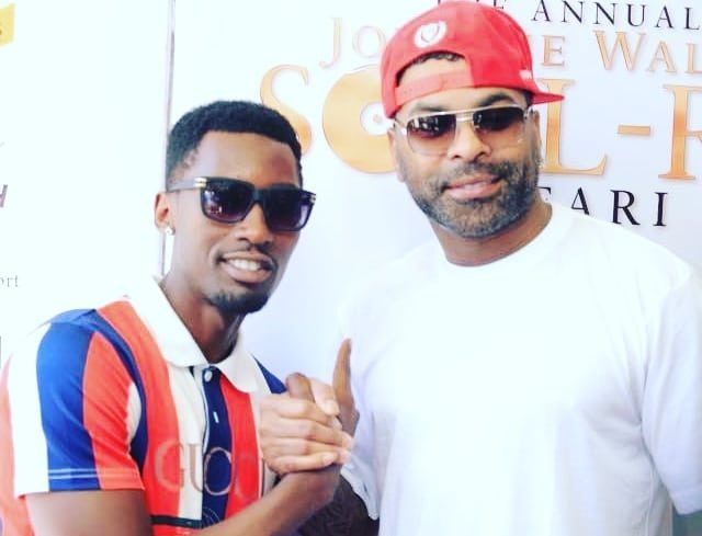 Michael Ross, who has always expressed his admiration and adoration of Ginuwine,, was treated to a shameful moment when bouncers threw him off stage