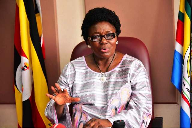 Speaker of Parliament Rebecca Kadaga to spend more day in hospital after she was airlifted from Nakesero hospital (FILE PHOTO)