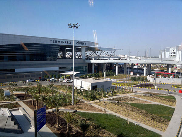 The 22-year-old Afghan man was caught on Monday as he arrived at the Indira Gandhi International airport to board a flight to Dubai. Following a tip-off, DRI officials intercepted him inside Terminal 3. (RAMESH NG PHOTO)