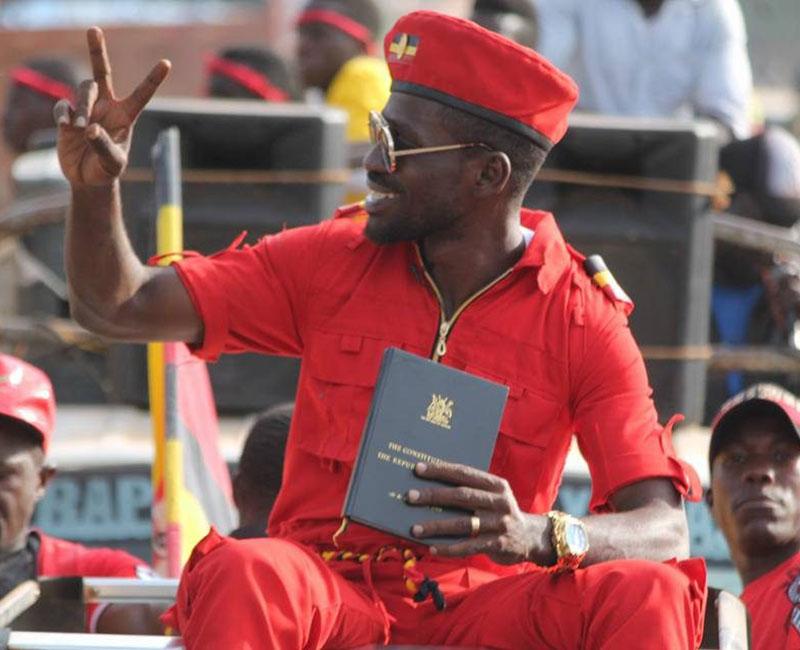 Musician cum politician, Mr Robert Kyagulanyi aka Bobi Wine . (FILE PHOTO)
