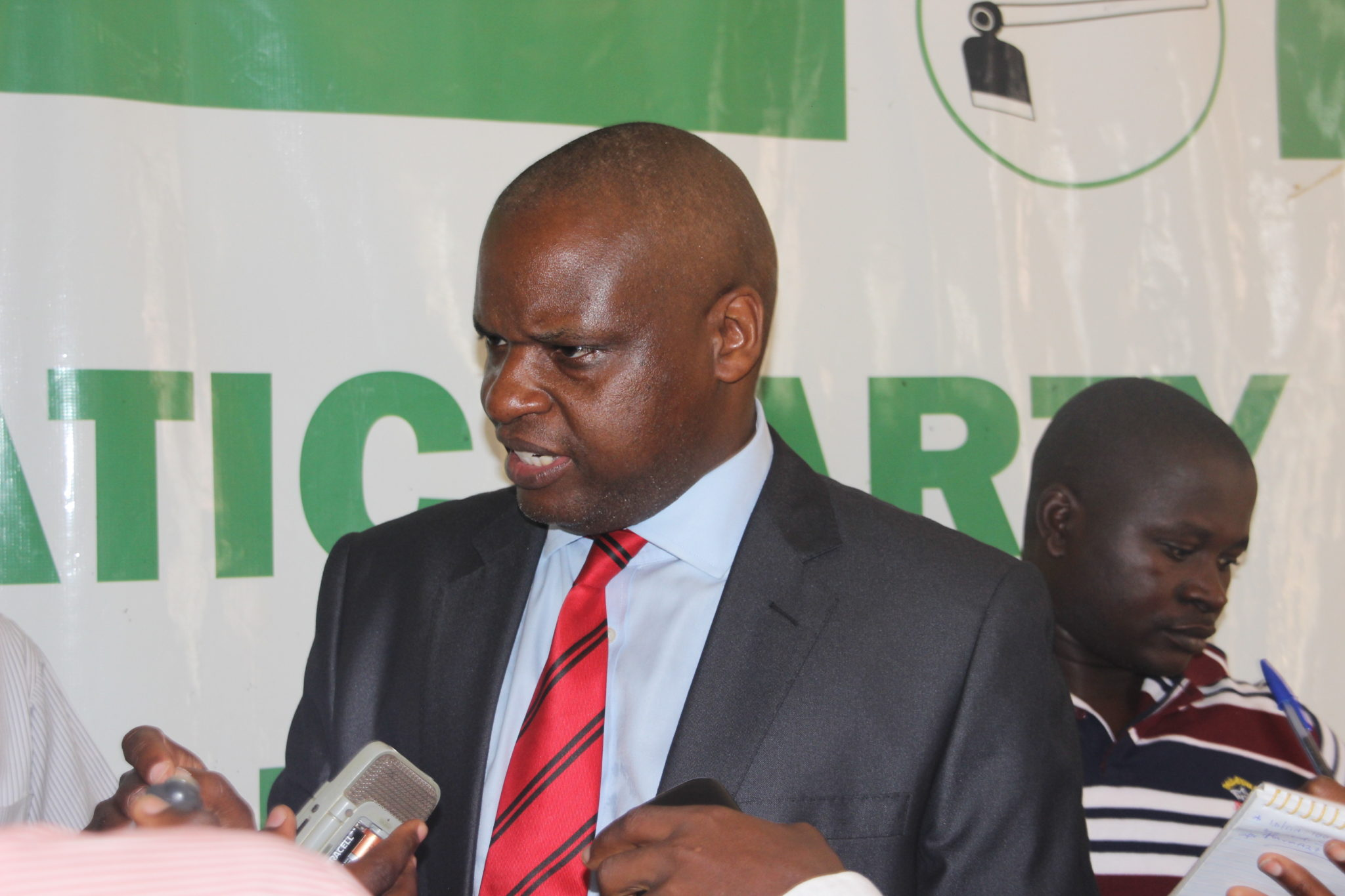 Democratic Party Spokesperson Kenneth Kakande announced DP's exit following suit after FDC exited (FILE PHOTO)