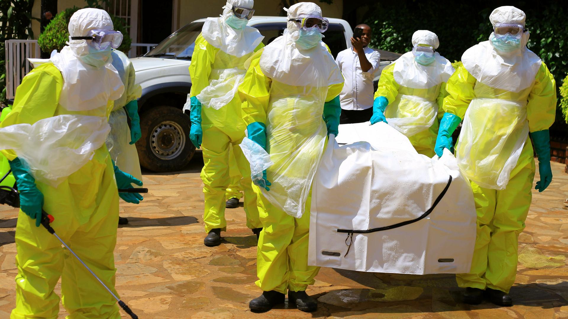 Ebola epidemic in the Democratic Republic of the Congo (DRC) has claimed more than a thousand lives (PHOTO/File)