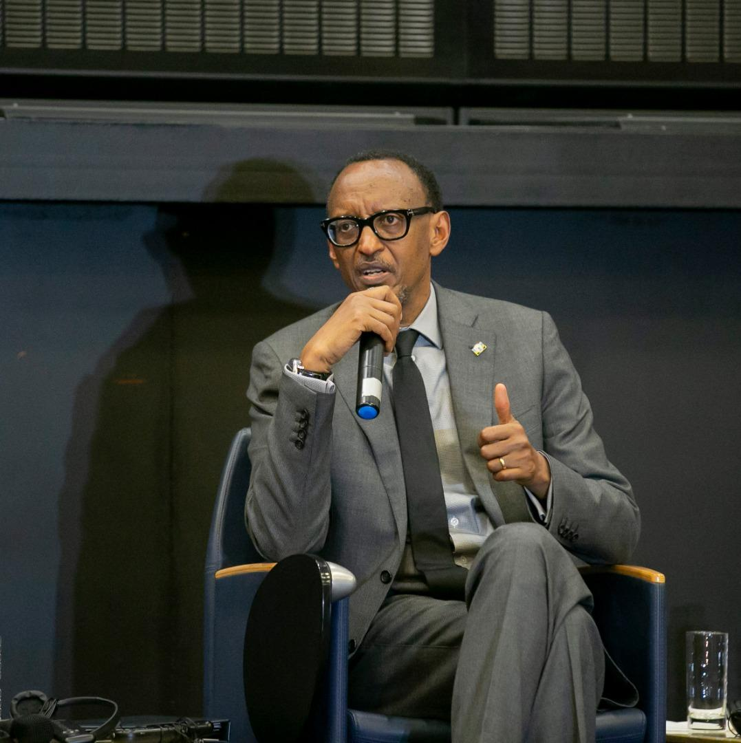Rwanda President, Paul Kagame, has urged African leaders to desist from relying on foreign aid and endevour to be self-reliant (AGENCIES PHOTO)