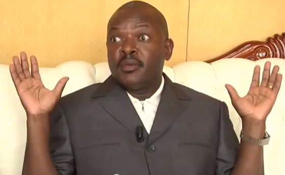 Burundi's president Pierre Nkurunzinza. (PHOTO/FILE)