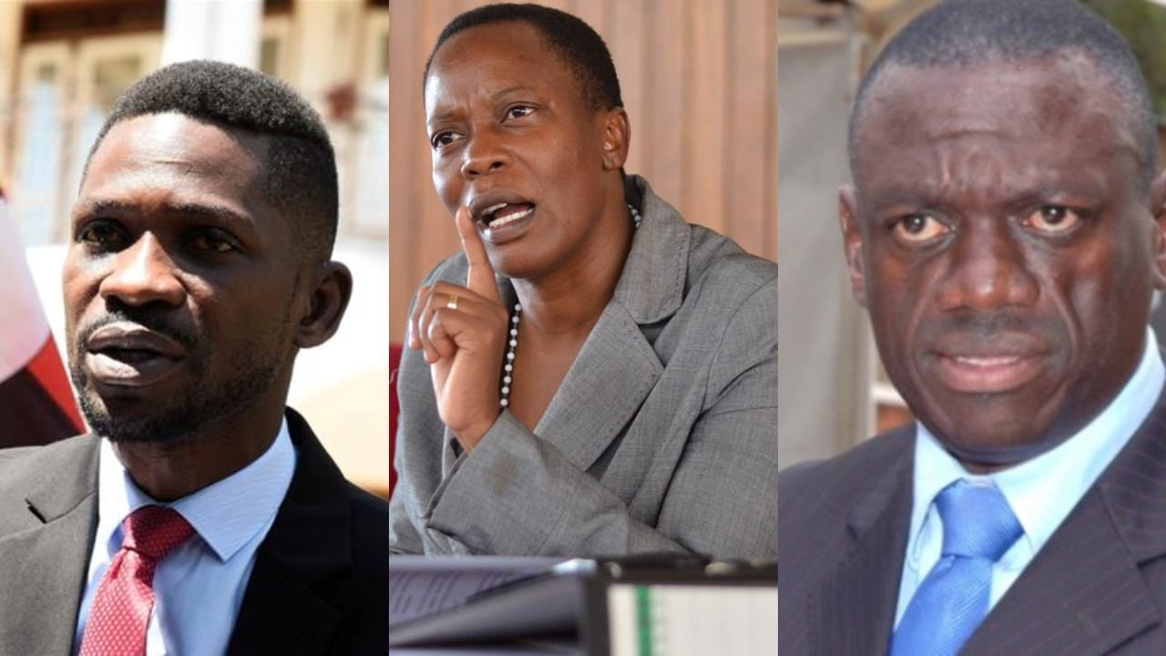 Outspoken Mukono Municipality MP Betty Nambooze has affirmed that People Power enthusiast and Kyadondo East MP Robert Kyagulanyi is working with lynch-pin and former FDC Party president, Dr. Kizza Besigye towards the 2021 general elections (FILE PHOTO)