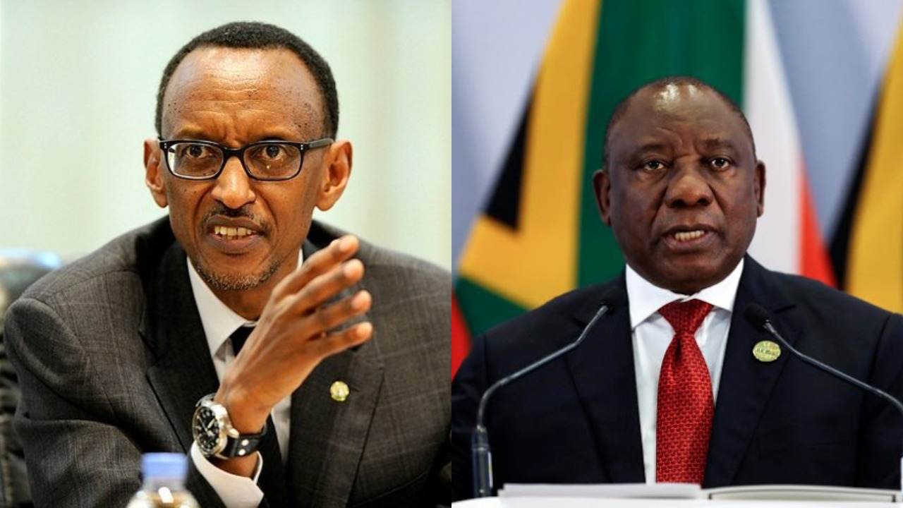 Relations between Rwanda government and South Africa turn sour as the latter recalls it ambassodor (FILE PHOTO)