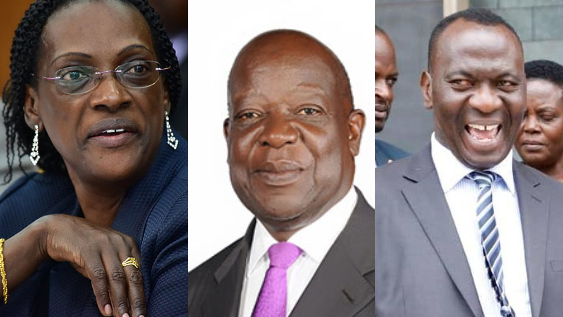Bank of Uganda trio, Ms Bagyenda, Mr Benedict Ssekabira and Mr Katimbo Mugwanya, that managed the closure of Crane Bank, has failed to give a comprehensive report  detailing the undercapitalisation of the defunct Crane Bank (FILE PHOTO)