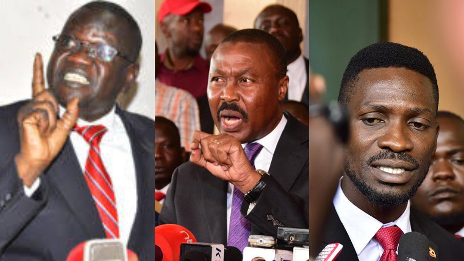 The year 2018 presented a political powershift revolving around Kyadondo East MP Robert Kyagulanyi alias Bobi Wine's People Power, Patrick Amuriat Oboi's FDC Party and Mugisha Muntu's New Formation (FILE PHOTO)