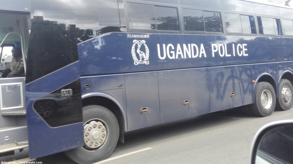 Uganda Police bus disappears while on duty in Kampala. (FILE PHOTO)