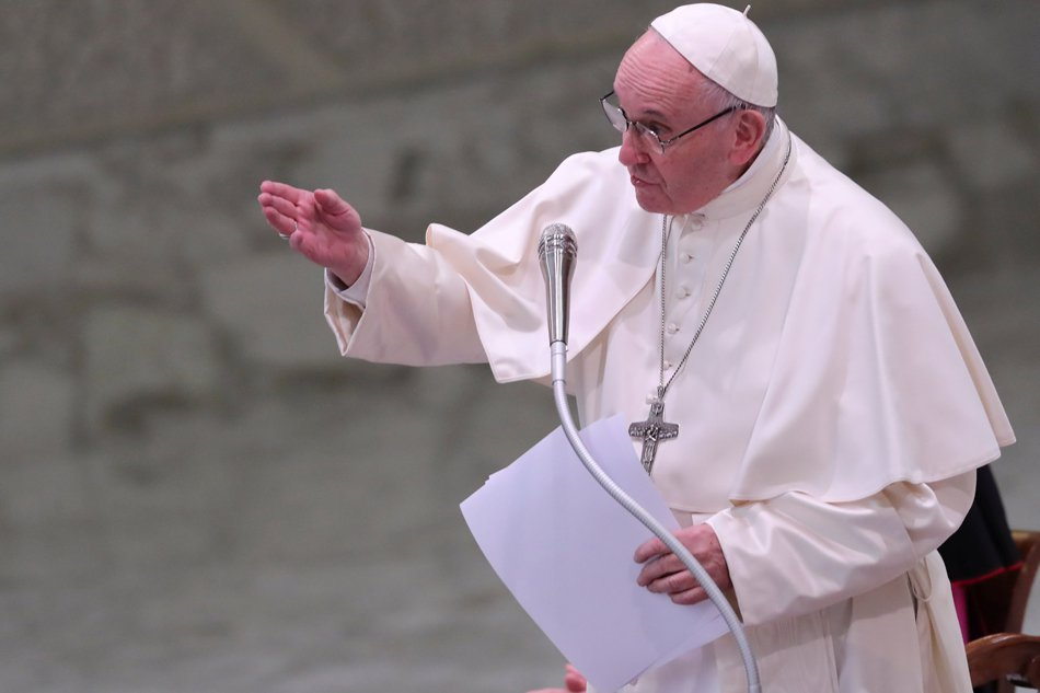 Poverty and hunger. Pope Francis has called for technological innovations to fight poverty and hunger. (FILE PHOTO)