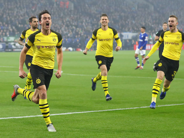 Dortmund are seven points clear at the top of the Bundesliga (Photos by Agencies)