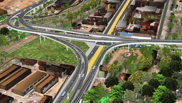 Several road to remain closed as President Museveni graces the Launch of the Kampala Fly Over project on December 20, 2018 (UNRA PHOTO)