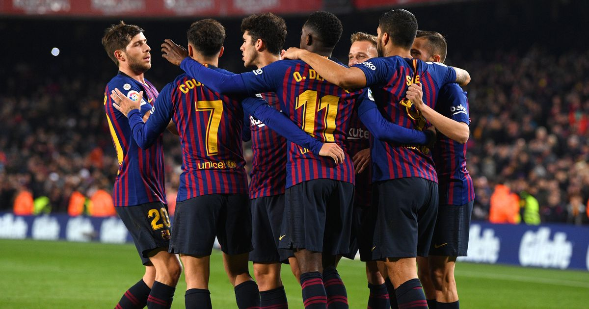 Barcelona have won all of their last 7 league games