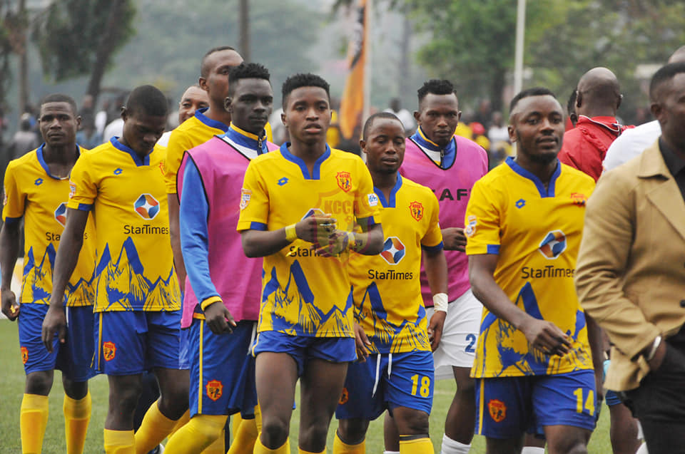 KCCA are six points clear at the top of the table (file Photo)