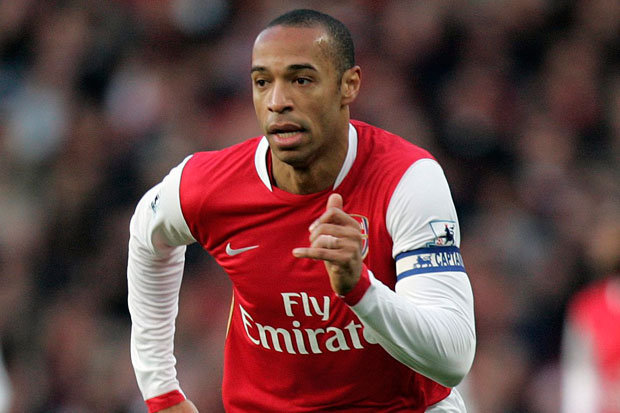 Henry was a winger before he joined Arsenal from Juventus (Photo by Agency)