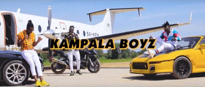 B2C solidiers in their brand new song 'Byamanyi'