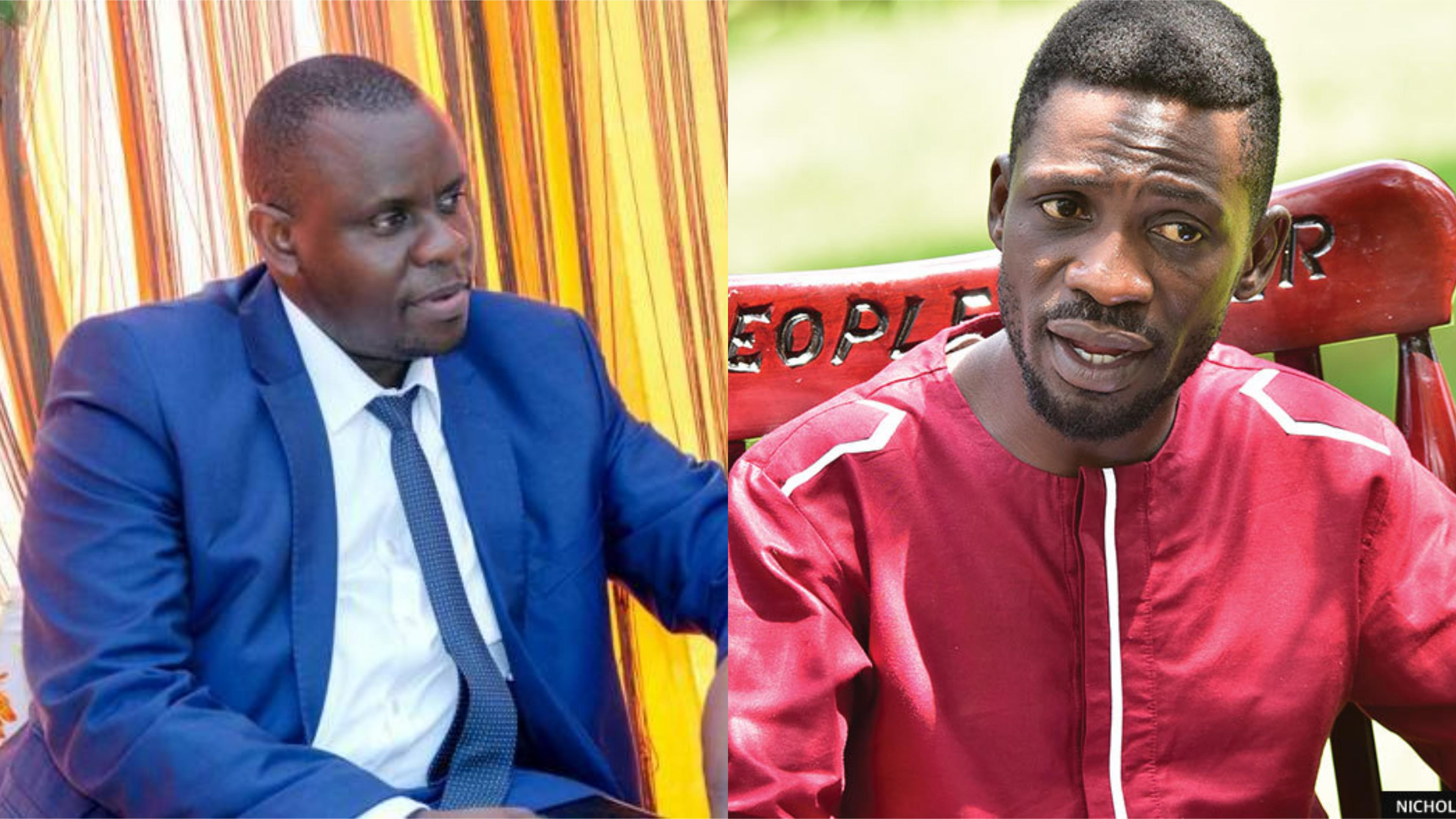 Events promoter Balaam Barugahara threatened to drag fellow promoter for allegedly revealing that he has registered Bobi Wine's slogan People Wine. (FILE PHOTO))