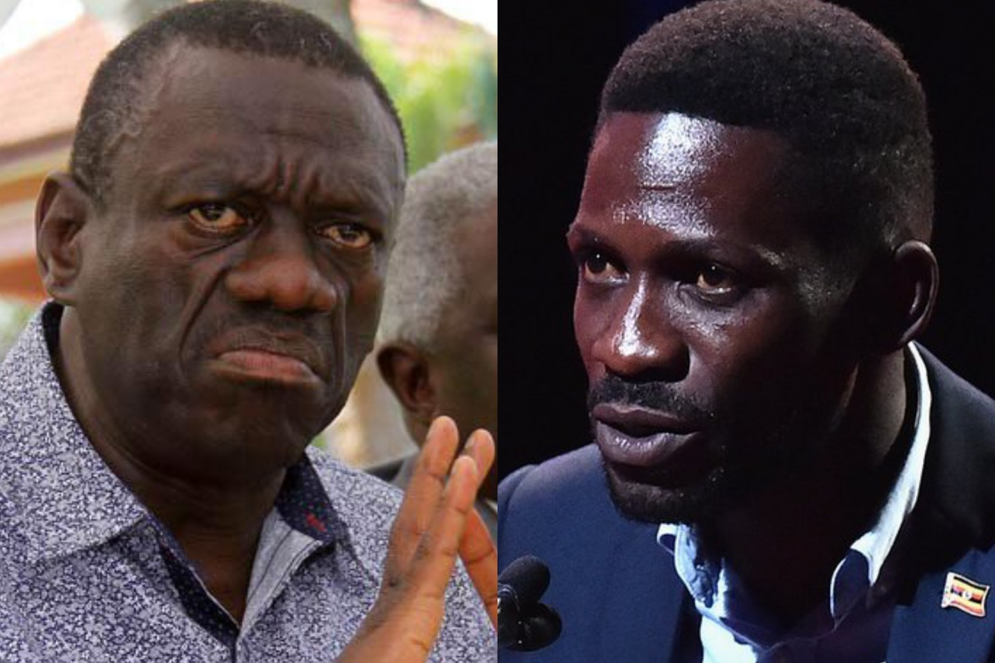 Former presidential candidate, Dr Kizza Besigye has refuted claims that he is afraid on Kyadondo East MP Robert Kyagulanyi alias Bobi Wine's fast rise on the Ugandan Political scene (FILE PHOTO)