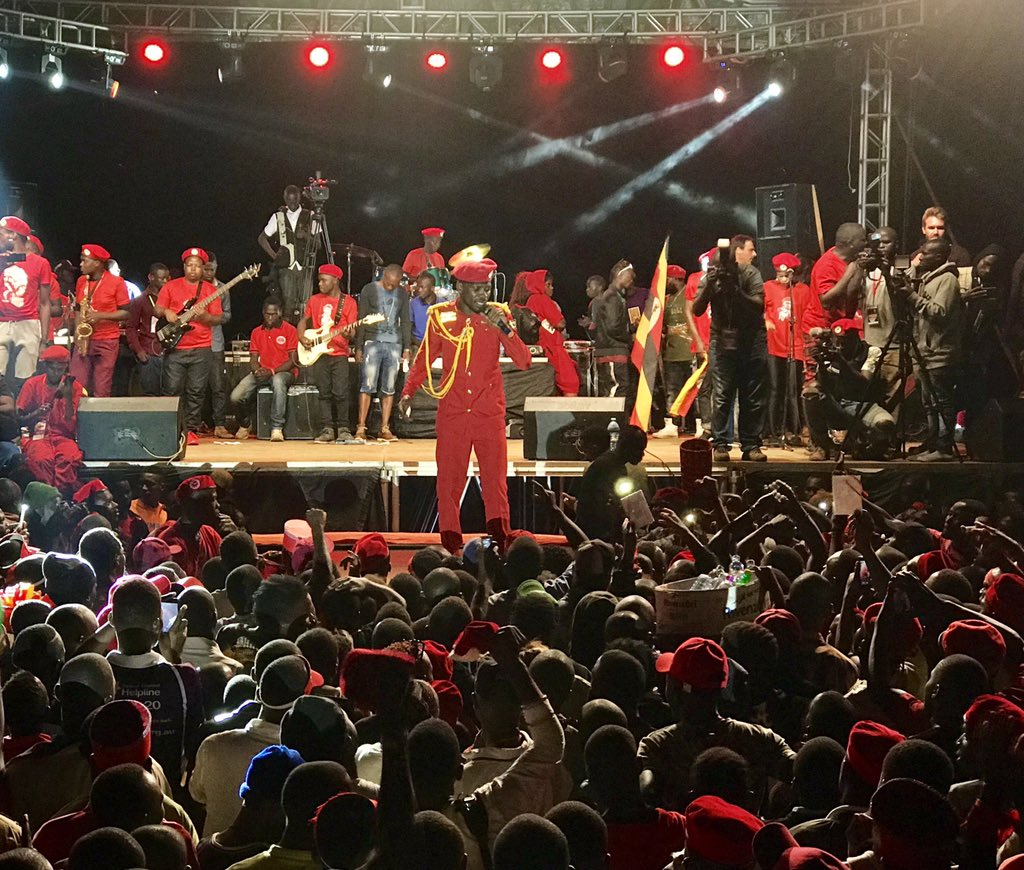 Bobi wine invited for biggest Jamaican reggae concert