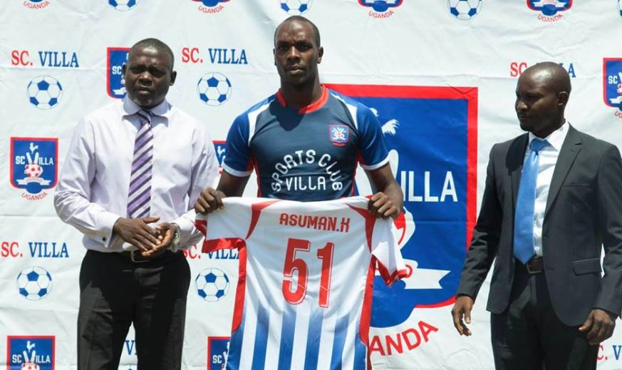 Alishe (center) is one of the 13 new players at SC Villa (Photos by Agency)
