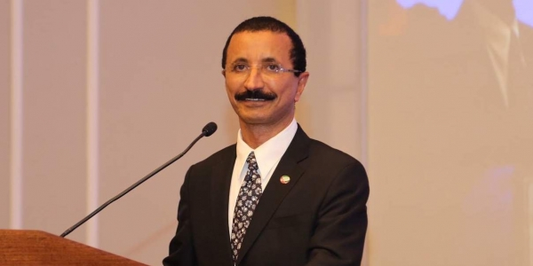 DP World's Group Chairman and CEO Sultan Ahmed Bin Sulayem.
