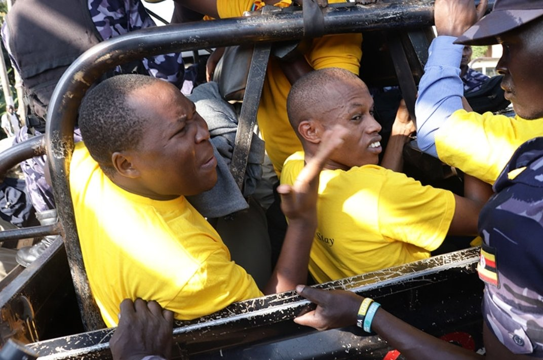 Over 50 youths belonging to NRM SOMA arm were arrested (FILE PHOTO)