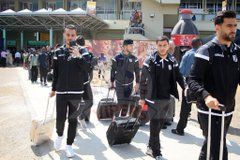 Sfaxien players arriving on Thursday afternoon
