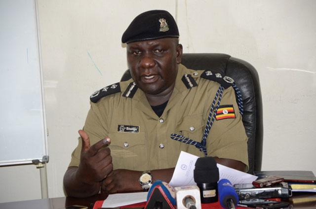 Police spokesman Fred Enanga.