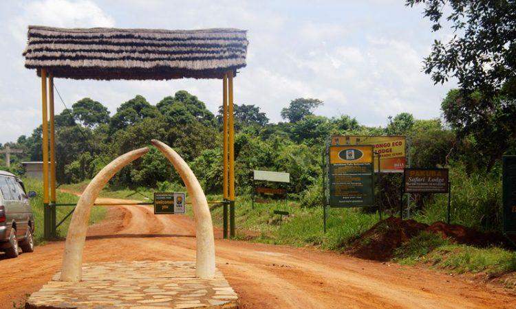 Murchison Falls National ParK gates (FILE PHOTO)