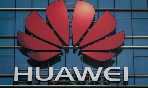 Huawei has been accused of conspiring to violate Iran sanctions and steal technology from T-Mobile. Photograph: Nicolas Asfouri/AFP/Getty Images