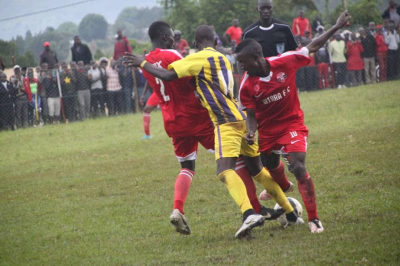 Proline and Kitara shared spoils in the first round game (file photo)
