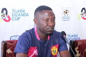 Byekwaso claims the playing conditions hampered his team's bid for all points against Mbarara (file photo)